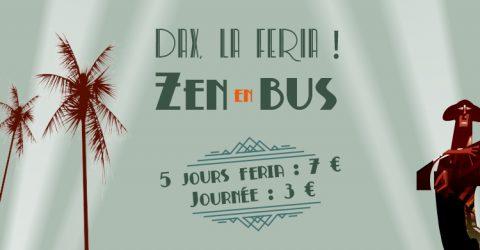 Zen en bus - feria Dax 2018
