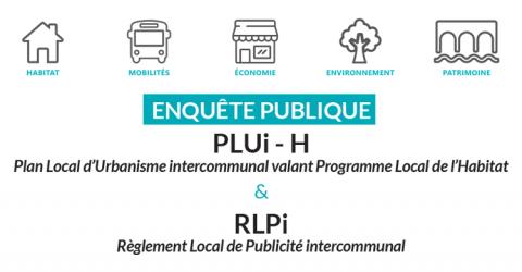 enquete publique PLUIH et RLPI