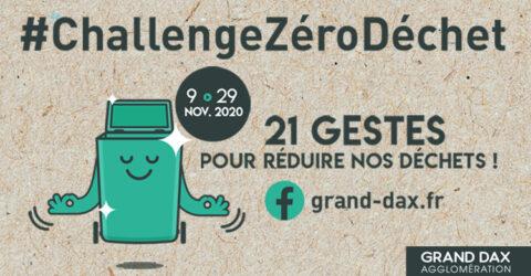 challenge zero dechet