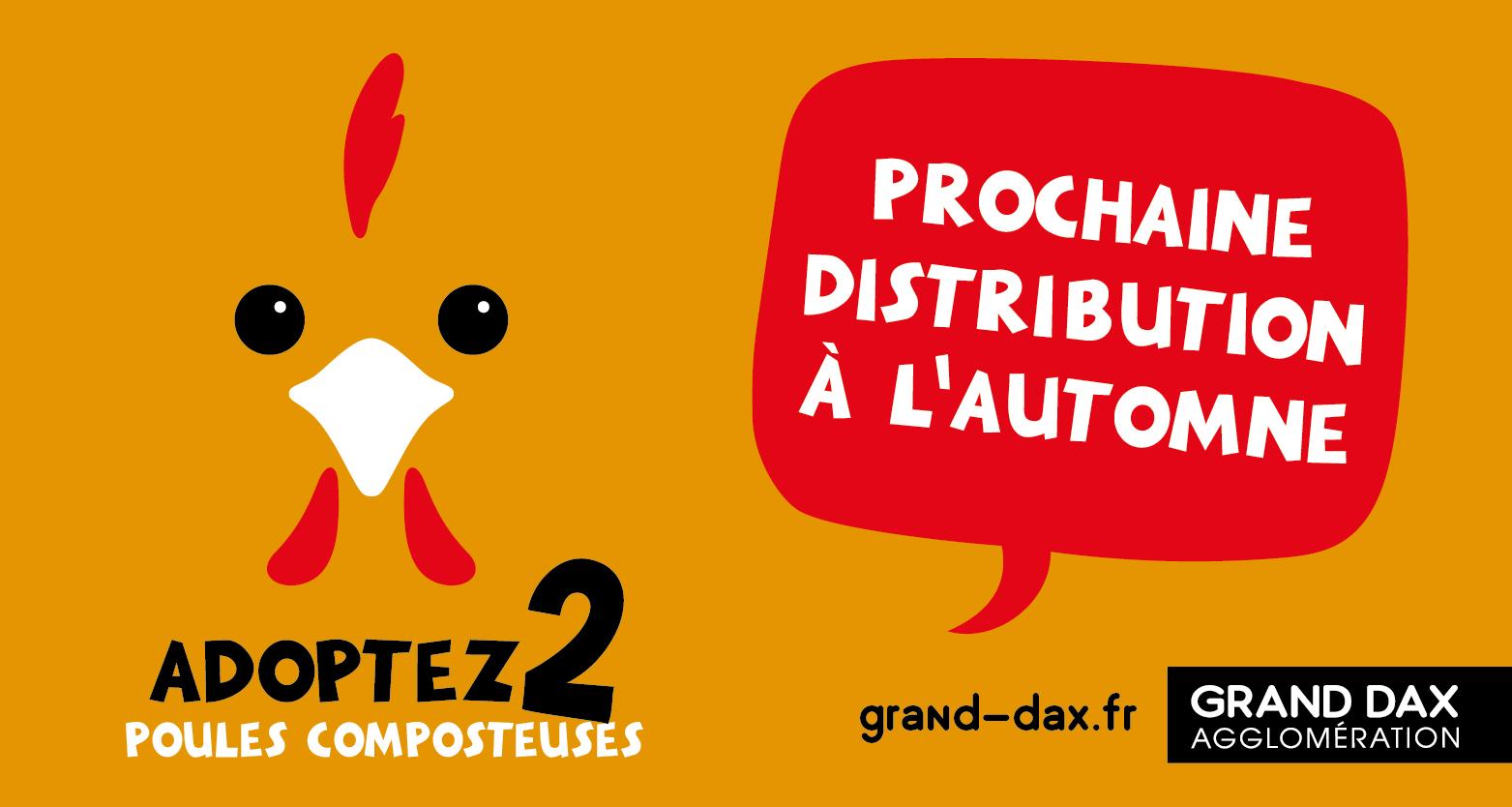 distribution poules